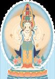 Avalokiteshvara (1000-armed) 2